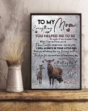 POSTER - TO MY MOM - DEER 16x24 Poster lifestyle-poster-3