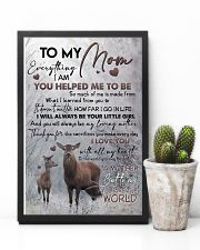 POSTER - TO MY MOM - DEER 16x24 Poster lifestyle-poster-8