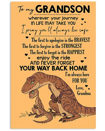 GRANDMA TO GRANDSON - VELOCIRAPTOR - THE FIRST