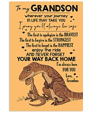 GRANDMA TO GRANDSON - VELOCIRAPTOR - THE FIRST 16x24 Poster front