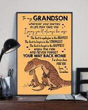 GRANDMA TO GRANDSON - VELOCIRAPTOR - THE FIRST 16x24 Poster lifestyle-poster-2