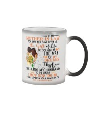 DAUGHTER TO MOTHER-IN-LAW Color Changing Mug thumbnail