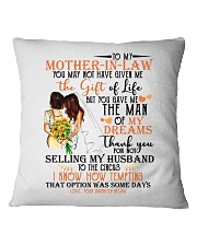 DAUGHTER TO MOTHER-IN-LAW Square Pillowcase thumbnail