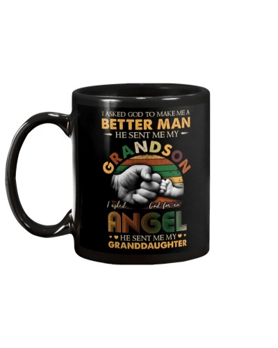 ASKED GOD - BETTER MAN - ANGEL