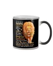 MUG - TO MY SON-IN-LAW - LION - GOD - CIRCUS Color Changing Mug thumbnail