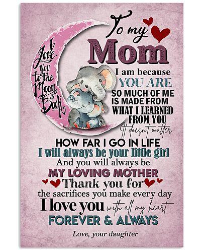 TO MY MOM - ELEPHANT - I LOVE YOU