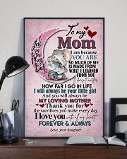 TO MY MOM - ELEPHANT - I LOVE YOU 16x24 Poster lifestyle-poster-2