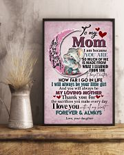 TO MY MOM - ELEPHANT - I LOVE YOU 16x24 Poster lifestyle-poster-3