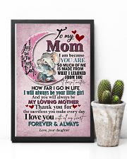 TO MY MOM - ELEPHANT - I LOVE YOU 16x24 Poster lifestyle-poster-8