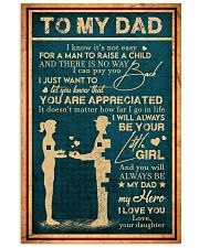 To My Dad - Vintage - You Are Appreciated 16x24 Poster front
