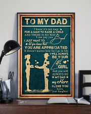 To My Dad - Vintage - You Are Appreciated 16x24 Poster lifestyle-poster-2