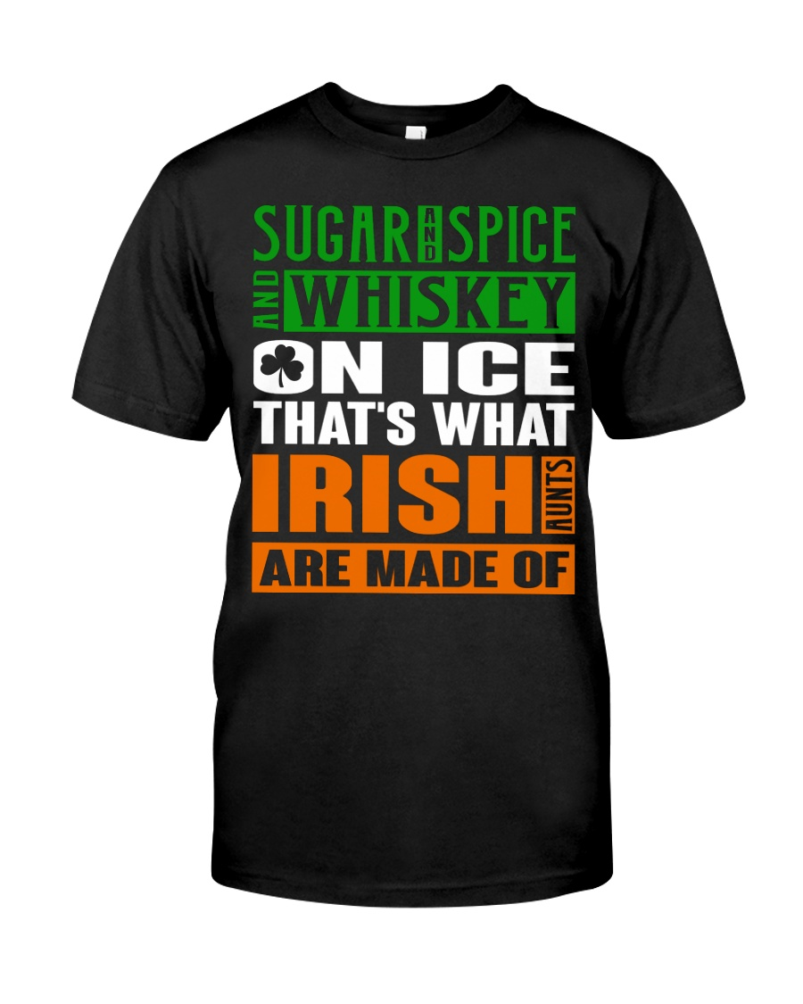 Sugar and spice and whiskey on ice Classic T-Shirt