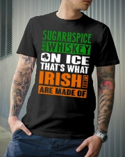 Sugar and spice and whiskey on ice Classic T-Shirt lifestyle-mens-crewneck-front-6