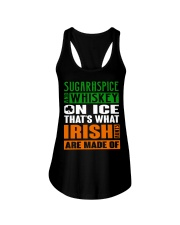 Sugar and spice and whiskey on ice Ladies Flowy Tank thumbnail