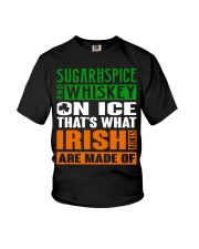 Sugar and spice and whiskey on ice Youth T-Shirt thumbnail