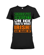 Sugar and spice and whiskey on ice Premium Fit Ladies Tee thumbnail