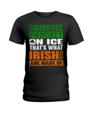 Sugar and spice and whiskey on ice Ladies T-Shirt thumbnail
