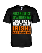 Sugar and spice and whiskey on ice V-Neck T-Shirt thumbnail