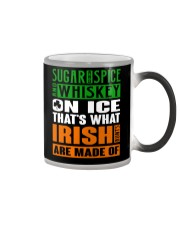 Sugar and spice and whiskey on ice Color Changing Mug thumbnail