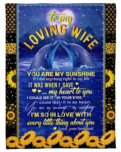 TO MY WIFE - DOLPHIN - I LOVE YOU