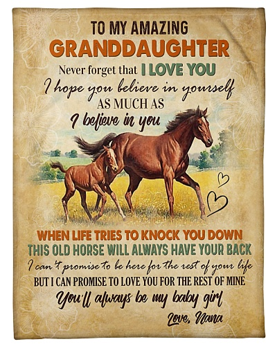 TO MY AMAZING GRANDDAUGHTER