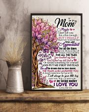 TO MY MOM - TREE 16x24 Poster lifestyle-poster-3