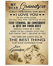 MY DEAR GRANDSON 16x24 Poster front