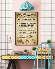 MY DEAR GRANDSON 16x24 Poster lifestyle-poster-6