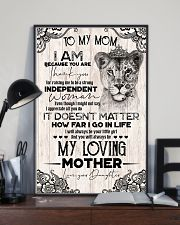 TO MY MOM - LIONESS - THANK YOU 16x24 Poster lifestyle-poster-2