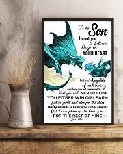 POSTER - TO MY SON - DRAGON - I WANT YOU 16x24 Poster lifestyle-poster-3