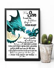 POSTER - TO MY SON - DRAGON - I WANT YOU 16x24 Poster lifestyle-poster-8