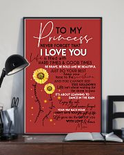 MOM TO PRINCESS 16x24 Poster lifestyle-poster-2