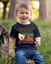 GRANDMA TO GRANDSON - HIGH FIVE - TAKE AFTER Youth T-Shirt lifestyle-youth-tshirt-front-4