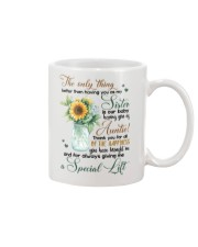SISTER - HAVING YOU AS AUNTIE Mug front