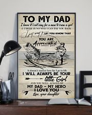 POSTER - TO MY DAD - FISHING 16x24 Poster lifestyle-poster-2