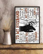 Wife to Husband - Hand In HAnd - I Love You After 16x24 Poster lifestyle-poster-3