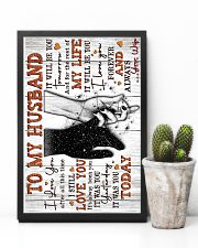 Wife to Husband - Hand In HAnd - I Love You After 16x24 Poster lifestyle-poster-8