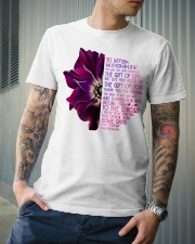 TO MY MOTHER-IN-LAW - ANEMONE -THANK YOU Classic T-Shirt lifestyle-mens-crewneck-front-6