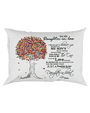 MOM TO DAUGHTER IN LAW Rectangular Pillowcase thumbnail