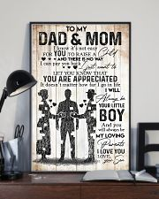 SON TO MOM AND DAD 16x24 Poster lifestyle-poster-2