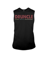Druncle The man The myth The bad influence Sleeveless Tee thumbnail