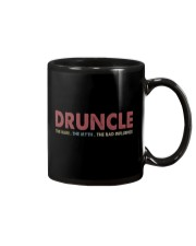 Druncle The man The myth The bad influence Mug thumbnail