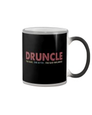 Druncle The man The myth The bad influence Color Changing Mug thumbnail