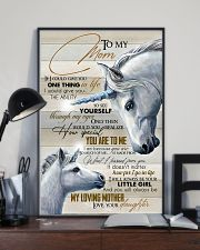 TO MY MOM - UNICORN 16x24 Poster lifestyle-poster-2