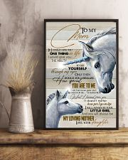TO MY MOM - UNICORN 16x24 Poster lifestyle-poster-3