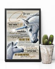 TO MY MOM - UNICORN 16x24 Poster lifestyle-poster-8