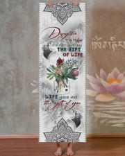 To My Daughter-in-law - Protea Flower  Yoga Mat 24x70 (vertical) aos-yoga-mat-lifestyle-29