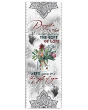 To My Daughter-in-law - Protea Flower  Yoga Mat 24x70 (vertical) front