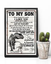 Dad To Son - Never Forget How Much I Love You 16x24 Poster lifestyle-poster-8