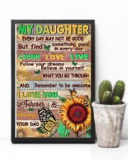 Dad To Daughter - Whenever You Feel Overwhelmed 16x24 Poster lifestyle-poster-8